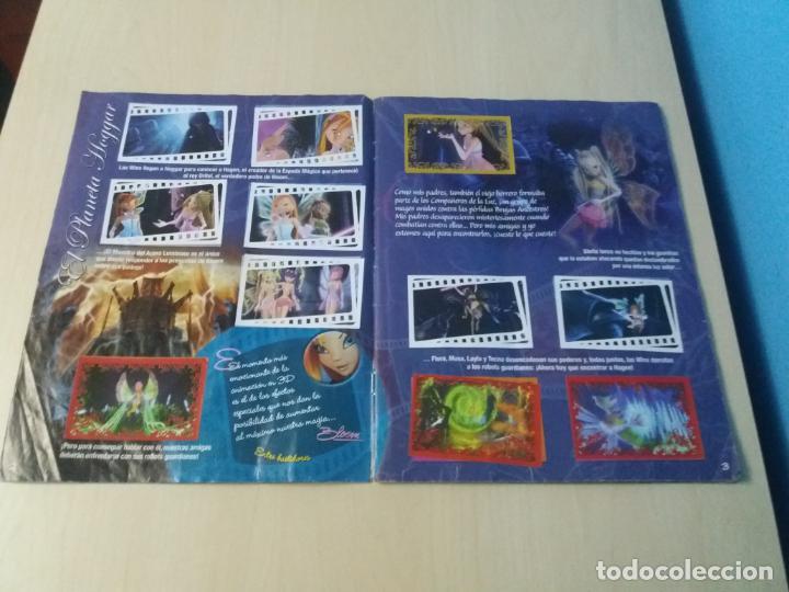 Coleccionismo Álbum: ALBUM COMPLETO WINX EL SECRETO DEL REINO PERDIDO AÑO 2003 PANINI CON POSTER - 2 cromos - Foto 3 - 157996430