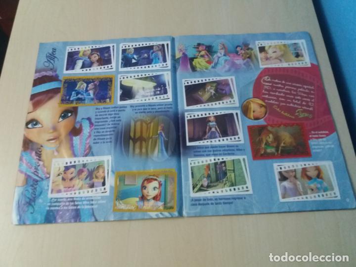 Coleccionismo Álbum: ALBUM COMPLETO WINX EL SECRETO DEL REINO PERDIDO AÑO 2003 PANINI CON POSTER - 2 cromos - Foto 6 - 157996430