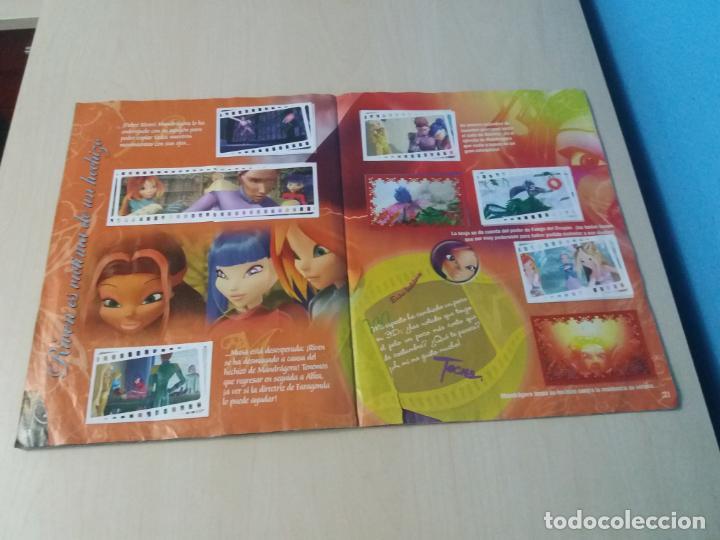 Coleccionismo Álbum: ALBUM COMPLETO WINX EL SECRETO DEL REINO PERDIDO AÑO 2003 PANINI CON POSTER - 2 cromos - Foto 16 - 157996430