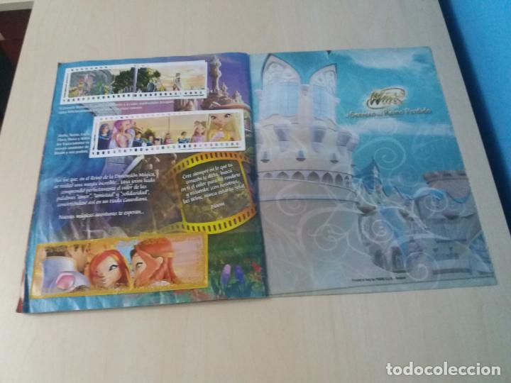 Coleccionismo Álbum: ALBUM COMPLETO WINX EL SECRETO DEL REINO PERDIDO AÑO 2003 PANINI CON POSTER - 2 cromos - Foto 22 - 157996430