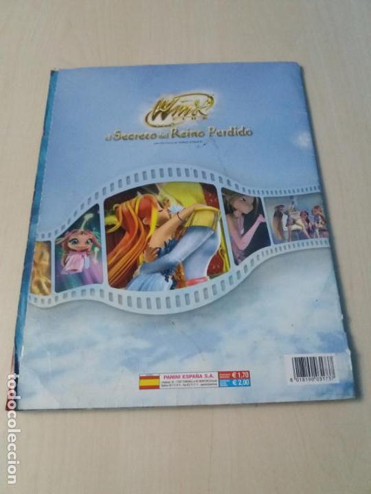 Coleccionismo Álbum: ALBUM COMPLETO WINX EL SECRETO DEL REINO PERDIDO AÑO 2003 PANINI CON POSTER - 2 cromos - Foto 23 - 157996430