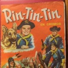 Coleccionismo Álbum: ÁLBUM CROMOS COMPLETO RIN-TIN-TIN. EDITORIAL FHER. 1962. Lote 158033366