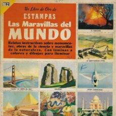 Coleccionismo Álbum: LAS MARAVILLAS DEL MUNDO - COMPLETO. Lote 158113462