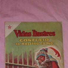 Coleccionismo Álbum: CONFUCIO. VIDAS ILUSTRES. NOVARO.. Lote 158140334