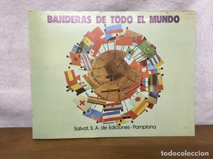 ALBUM DE CROMOS - BANDERAS DE TODO EL MUNDO - SALVAT S.A - COMPLETO (Coleccionismo - Cromos y Álbumes - Álbumes Completos)