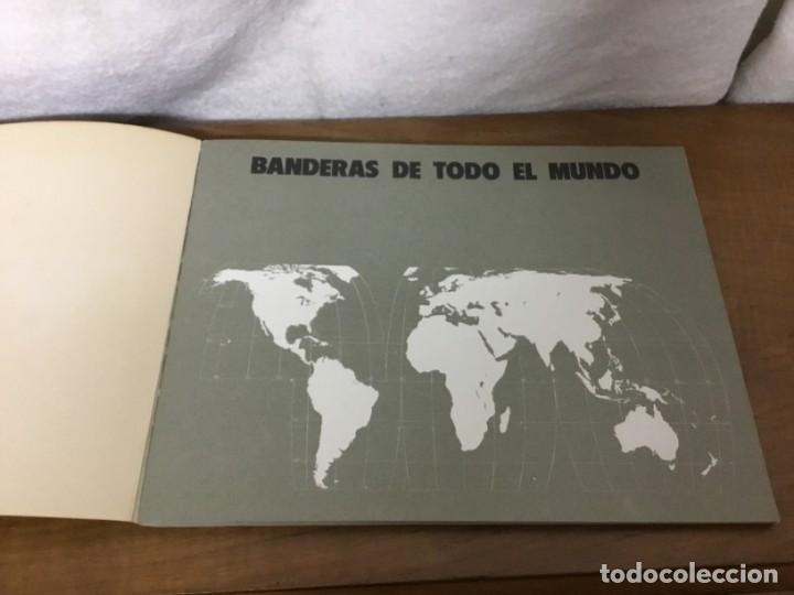 Coleccionismo Álbum: ALBUM DE CROMOS - BANDERAS DE TODO EL MUNDO - SALVAT S.A - COMPLETO - Foto 2 - 158670974