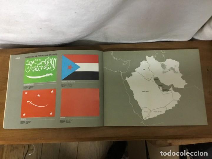 Coleccionismo Álbum: ALBUM DE CROMOS - BANDERAS DE TODO EL MUNDO - SALVAT S.A - COMPLETO - Foto 10 - 158670974