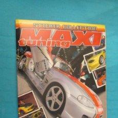 Coleccionismo Álbum: MAXI TUNNING. Lote 158778530