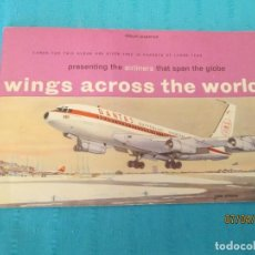 Coleccionismo Álbum: WINGS ACROSSTHE WORLD J LYONS. Lote 158935238