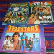 Coleccionismo Álbum: MIS FAVORITOS RUIZ ROMERO, TELESTARS TELE STARS TELE-STARS ED. ESTE Y TELE POP ED. ESTE COMPLETO.. Lote 159208806