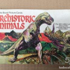 Coleccionismo Álbum: ALBUM CROMOS COMPLETO. PREHISTORIC ANIMALS. 50 CROMOS. AÑO 1972. BROOKE BOND & CO. LTD. Lote 159370970