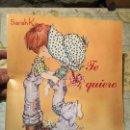 Coleccionismo Álbum: ANTIGUO ÀLBUM DE CROMOS SARAH KAY TE QUIERO COMPLETO 144 CROMOS PANINI AÑO 1980 . Lote 159448362