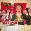 Coleccionismo Álbum: ANTIGUO ÀLBUM DE CROMOS ALBUM MAGA TRAJES TIPICOS DE TODO EL MUNDO INCOMPLETO AÑO 1977 . Lote 159448566