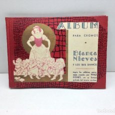 Coleccionismo Álbum: ALBUM COMPLETO - BLANCANIEVES Y LOS SIETE ENANOS - CROMOS FHER BILBAO. Lote 159552234