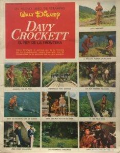 Davy Crockett. el rey de la frontera cromos y album