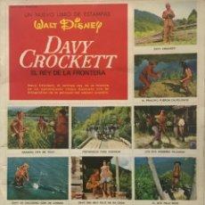 Coleccionismo Álbum: DAVY CROCKETT. EL REY DE LA FRONTERA. LIBRO DE ESTAMPAS WALT DISNEY 21,3X27,3 CM. Lote 159591702