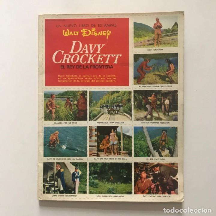 Coleccionismo Álbum: Davy Crockett. El rey de la frontera. Libro de estampas Walt Disney 21,3x27,3 cm - Foto 2 - 159591702