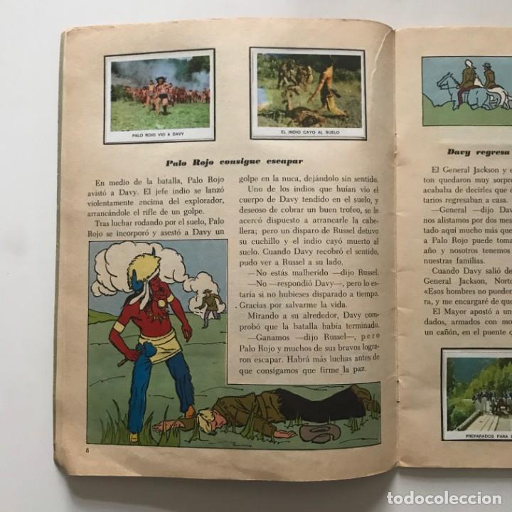 Coleccionismo Álbum: Davy Crockett. El rey de la frontera. Libro de estampas Walt Disney 21,3x27,3 cm - Foto 5 - 159591702