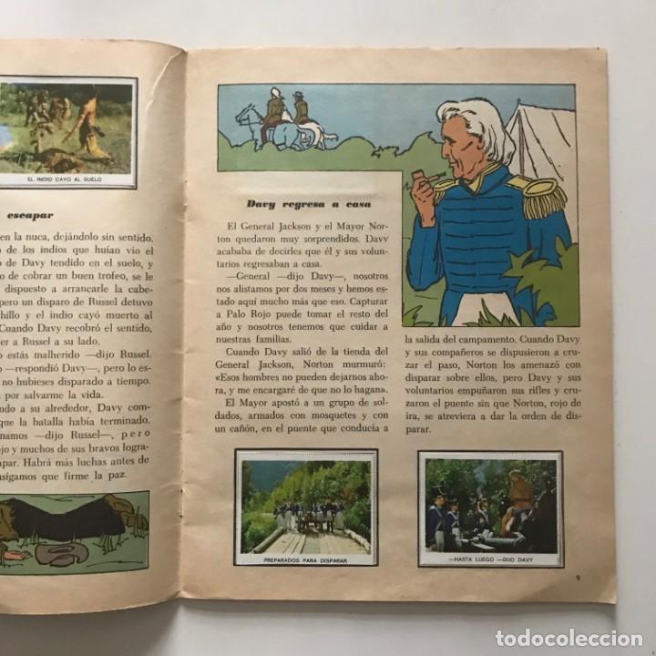 Coleccionismo Álbum: Davy Crockett. El rey de la frontera. Libro de estampas Walt Disney 21,3x27,3 cm - Foto 6 - 159591702