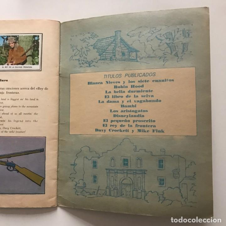 Coleccionismo Álbum: Davy Crockett. El rey de la frontera. Libro de estampas Walt Disney 21,3x27,3 cm - Foto 8 - 159591702