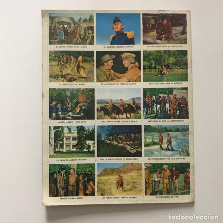 Coleccionismo Álbum: Davy Crockett. El rey de la frontera. Libro de estampas Walt Disney 21,3x27,3 cm - Foto 9 - 159591702