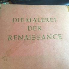 Coleccionismo Álbum: ÁLBUM ALEMÁN DIE MALEREI DER RENAISSANCE COMPLETO TODOS SUS CROMOS. Lote 159967200