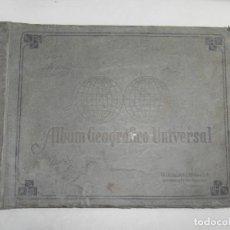 Coleccionismo Álbum: ALBUM GEOGRAFICO UNIVERSAL. CIGARROS SUSINI. COMPLETO. TABACALERA CUBANA. LA HABANA, 1936. LEER.. Lote 160085654