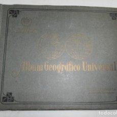 Coleccionismo Álbum: ALBUM GEOGRAFICO UNIVERSAL. CIGARROS SUSINI. COMPLETO. HABANA, 1936. PERFECTO ESTADO. LEER.. Lote 160094210