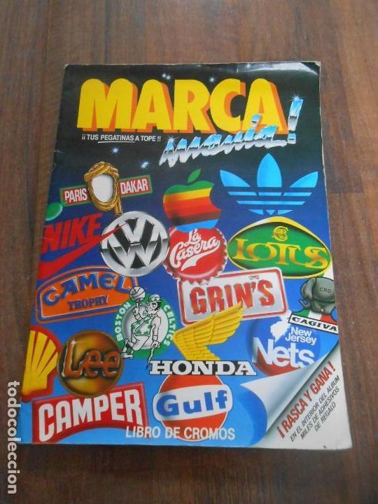 ALBUM CROMOS COMPLETO MARCA MANIA MARCAMANIA MARCAS BRANDS CROMO ALBUN ALFREEDOM (Coleccionismo - Cromos y Álbumes - Álbumes Completos)