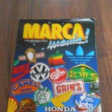 Coleccionismo Álbum: ALBUM CROMOS COMPLETO MARCA MANIA MARCAMANIA MARCAS BRANDS CROMO ALBUN ALFREEDOM. Lote 160265806