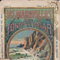 Coleccionismo Álbum: LAS MARAVILLAS DEL FONDO DEL MAR SERIE A Nº 1 . Lote 160291226