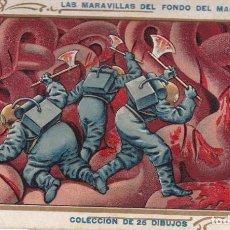 Coleccionismo Álbum: LAS MARAVILLAS DEL FONDO DEL MAR SERIE A Nº 25 CHOCOLATE PI BARCELONA . Lote 160292602