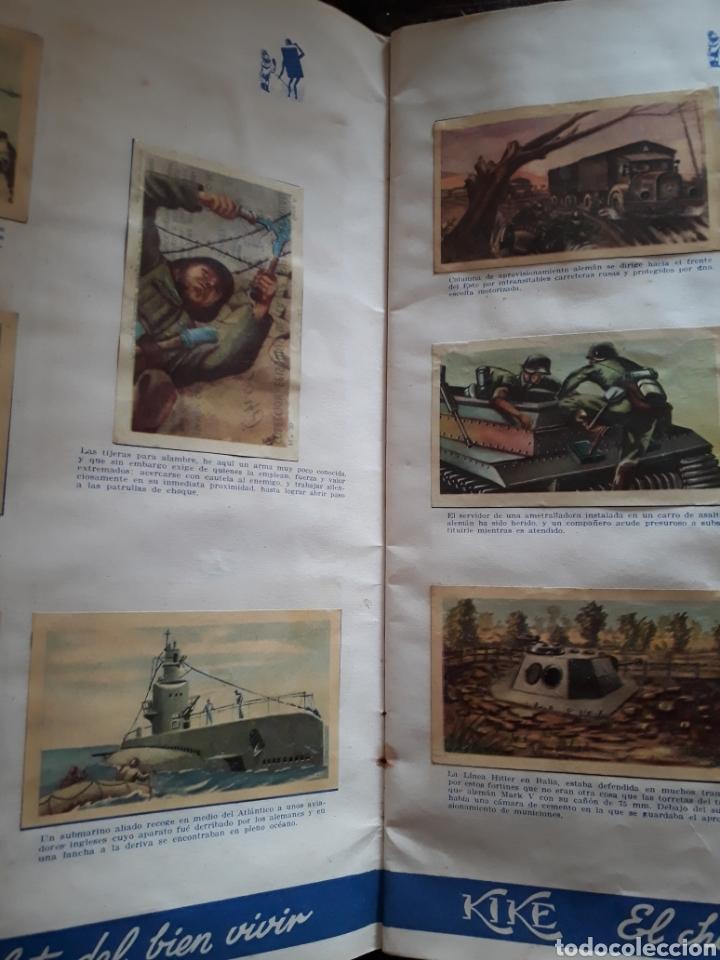 Coleccionismo Álbum: Album Chocolates Kike , Episodios de la Segunda Guerra Mundial. - Foto 4 - 160416321