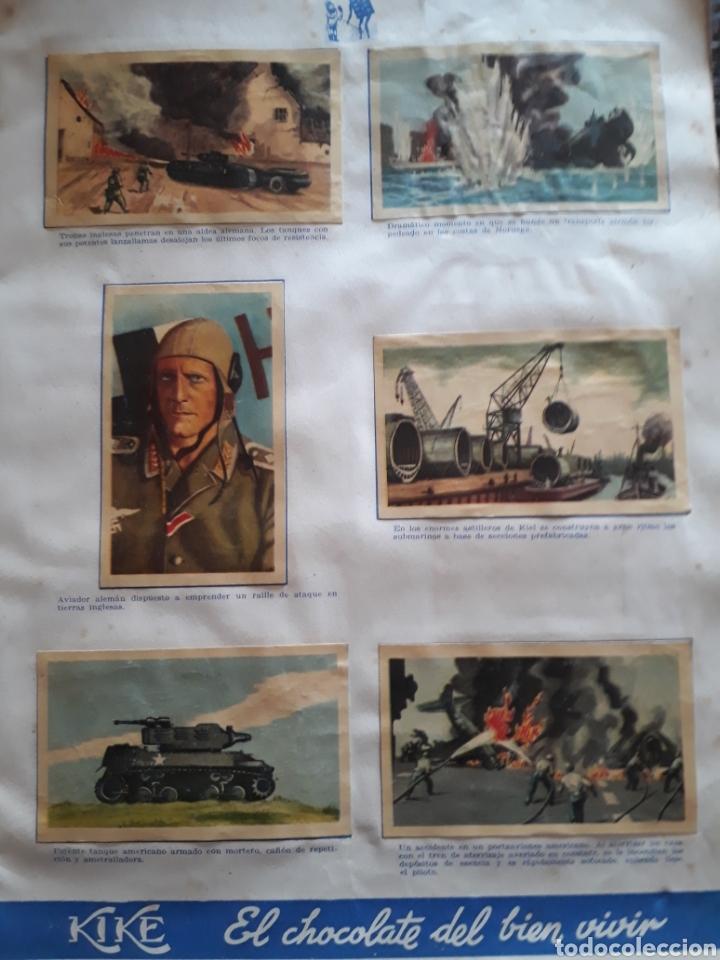 Coleccionismo Álbum: Album Chocolates Kike , Episodios de la Segunda Guerra Mundial. - Foto 6 - 160416321