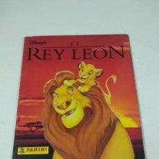 Coleccionismo Álbum: COMPLETO ALBUM DE CROMOS EL REY LEON PANINI DISNEY . Lote 160466154