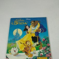 Coleccionismo Álbum: COMPLETO ALBUM DE CROMOS LA BELLA Y LA BESTIA PANINI DISNEY. Lote 160470090