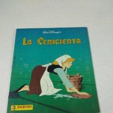 Coleccionismo Álbum: COMPLETO ALBUM DE CROMOS LA CENICIENTA PANINI DISNEY. Lote 160472834