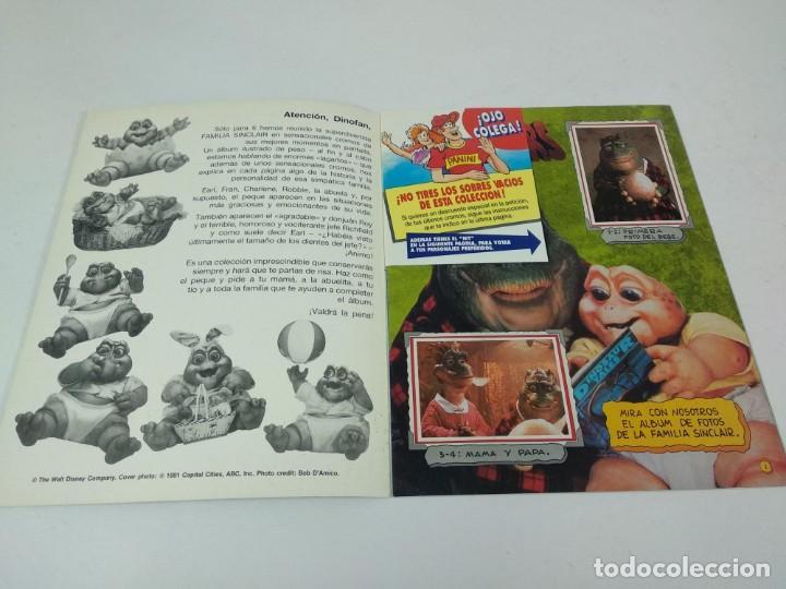 Coleccionismo Álbum: Completo Album de Cromos Dinosaurs Panini - Foto 2 - 160476362