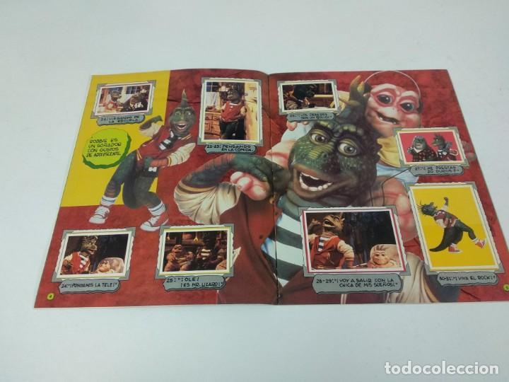 Coleccionismo Álbum: Completo Album de Cromos Dinosaurs Panini - Foto 3 - 160476362