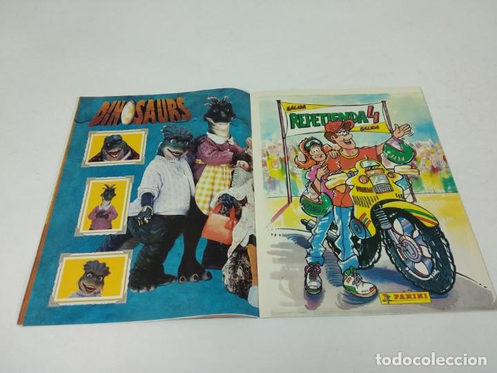 Coleccionismo Álbum: Completo Album de Cromos Dinosaurs Panini - Foto 5 - 160476362