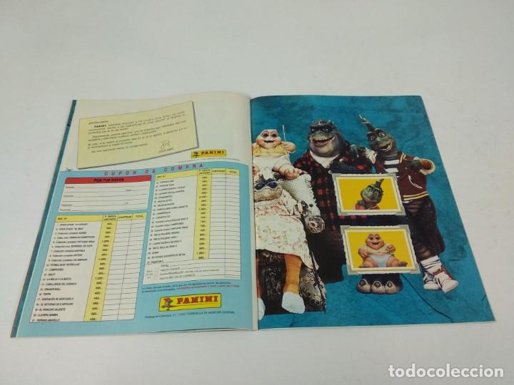 Coleccionismo Álbum: Completo Album de Cromos Dinosaurs Panini - Foto 6 - 160476362