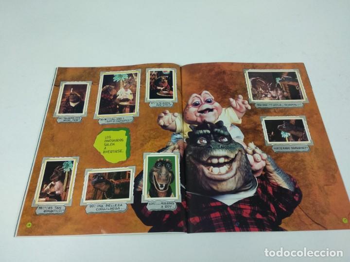 Coleccionismo Álbum: Completo Album de Cromos Dinosaurs Panini - Foto 7 - 160476362