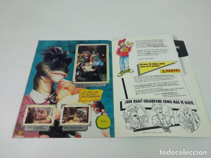 Coleccionismo Álbum: Completo Album de Cromos Dinosaurs Panini - Foto 8 - 160476362