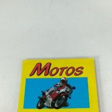 Coleccionismo Álbum: ALBUM DE CROMOS MOTOS MOTOR 16 EDICIONES UNIDAS 1987. Lote 160486570