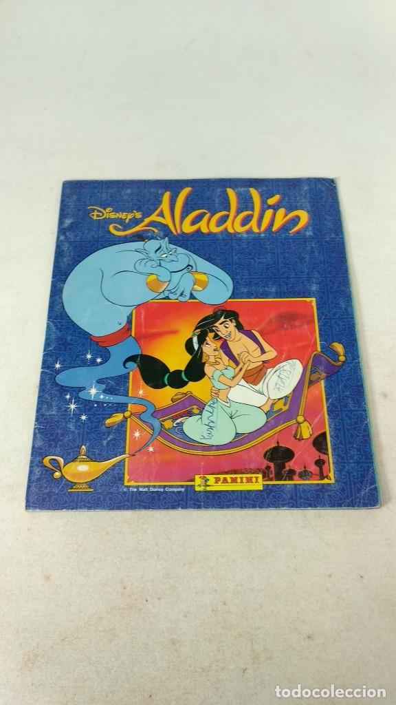 COMPLETO ALBUM DE CROMOS ALADIN PANINI 1993 DISNEY (Coleccionismo - Cromos y Álbumes - Álbumes Completos)