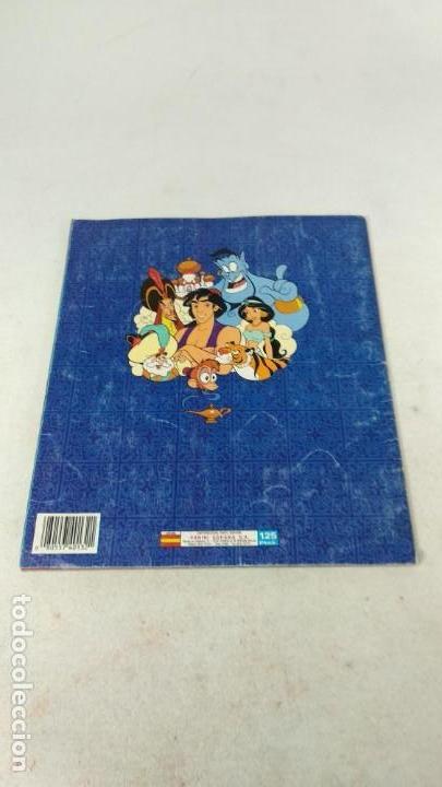 Coleccionismo Álbum: Completo Album de Cromos Aladin Panini 1993 Disney - Foto 2 - 160496430