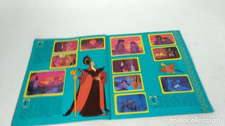 Coleccionismo Álbum: Completo Album de Cromos Aladin Panini 1993 Disney - Foto 4 - 160496430