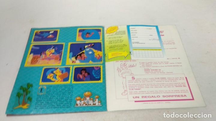 Coleccionismo Álbum: Completo Album de Cromos Aladin Panini 1993 Disney - Foto 8 - 160496430