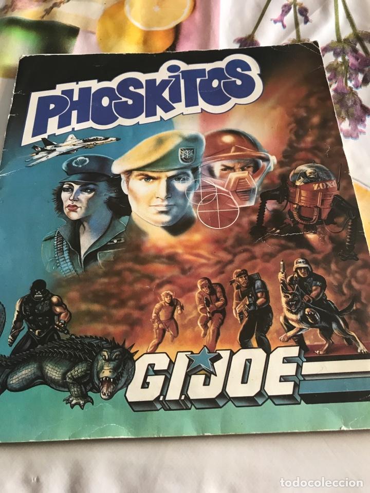 PHISKITOS ALBUM GIJOE COMPLETO (Coleccionismo - Cromos y Álbumes - Álbumes Completos)