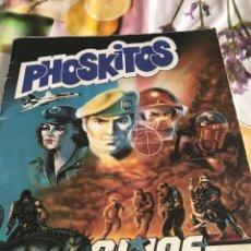 Coleccionismo Álbum: PHISKITOS ALBUM GIJOE COMPLETO. Lote 160677116